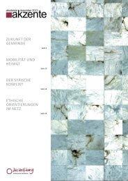 AkademieAkzente Ausgabe Dezember 2013 - Die Wolfsburg