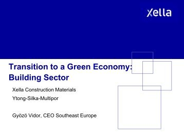 Transition To A Green Economy - Events