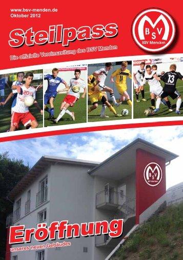 Steilpass Eröffnung - BSV Menden