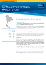 Pattaya City Condominium market rePort - Pattaya Condo Guide.