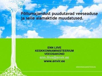 Põllumajandust puudutavad... - Eesti põllu- ja maamajanduse ...