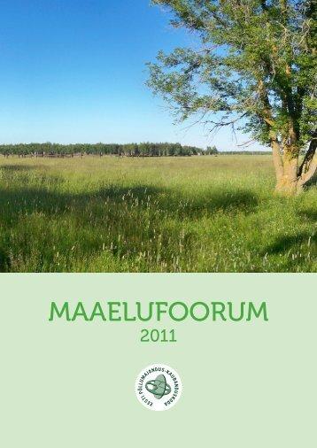 Maaelufoorum. 2011 kokkuvõte. - Lääne-Harju Koostöökogu