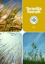 Teraviljafoorum 2011 - Eesti põllu- ja maamajanduse ...