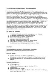 Sozialkompetenz: Zeitmanagement, Selbstmanagement ... - Weleda