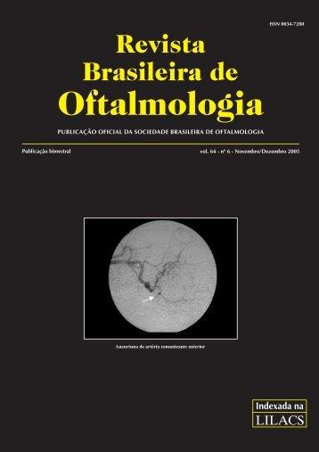 Nov-Dez - Sociedade Brasileira de Oftalmologia