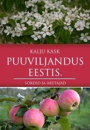 Puuviljandus Eestis - Eesti põllu- ja maamajanduse nõuandeteenistus