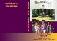 2005-2007 - Benedict College