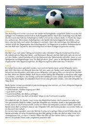 Squashregeln zum downloaden - Soccerworld München