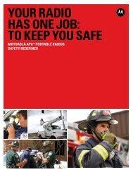 APX Portable Family Brochure - Motorola Solutions