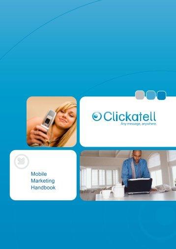 Mobile Marketing Handbook - Clickatell