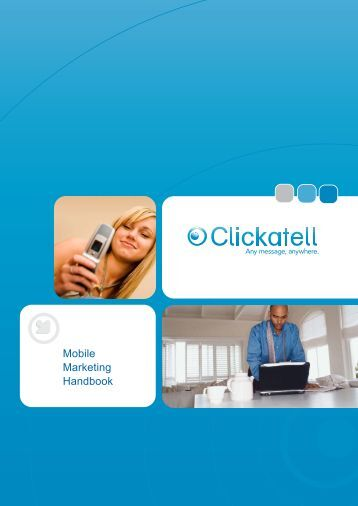 Mobile Marketing Handbook - Clickatell