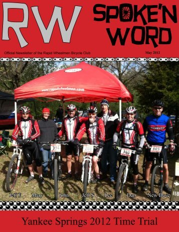 Yankee Springs 2012 Time Trial - Rapid Wheelmen