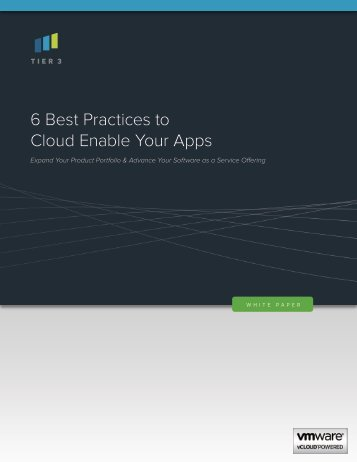 6 Best Practices to Cloud Enable Your Apps - Bitpipe