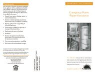 Emergency Home Repair Assistance - City of Concord