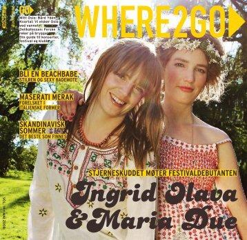 Where2go 5/2008 - Visage