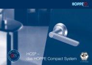 HCS® – das HOPPE Compact System - alteza.com.ua