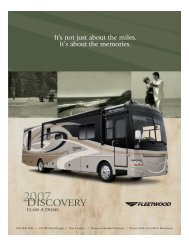 2007 Brochure - Discovery Owners Association