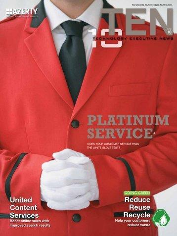 Platinum service - Azerty.com