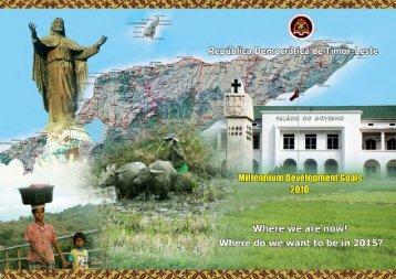 2010 - Timor-Leste Ministry of Finance