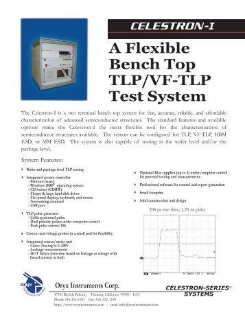 A Flexible Bench Top TLP/VF-TLP Test System