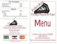Frillio's Pizza