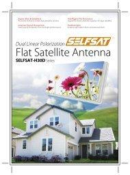 Flat Satellite Antenna