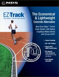 EZ-Track The Economical & Lightweight - NDS