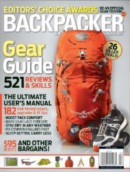Backpacker Gear Guide - March 2009 - Wenger