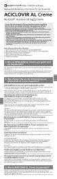 ACICLOVIR AL Creme - Aliud Pharma GmbH & Co. KG