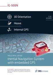 IG-500N - SBG Systems