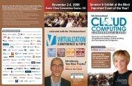 November 2-4, 2009 - SYS-CON Media