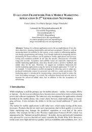 Evaluation Framework For A Mobile Marketing ... - Recursos VoIP