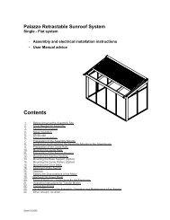 Palazzo Assembly Instructions & User Manual - Viva Sunscreens