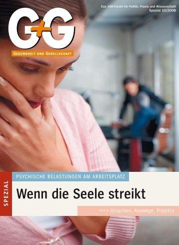 Wenn die Seele streikt - Institut für Betriebliche ...