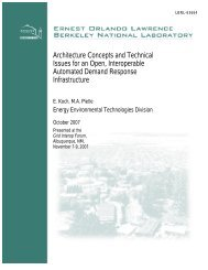Architecture Concepts and Technical Issues for an Open ...