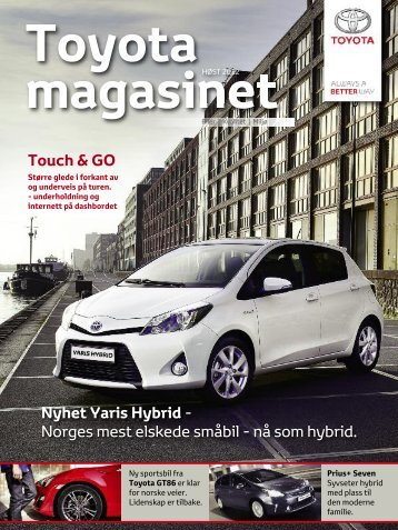 Toyota Magasinet høst 2012