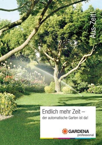 Aus-Zeit! - Der Gärtner GmbH