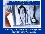 Building Skills Managing People - Graduate Medical Education ...