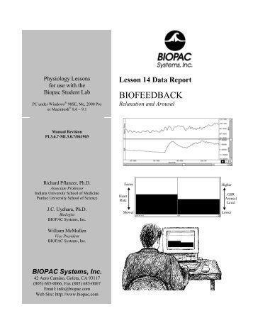 Lesson 14 Data Report - Biopac