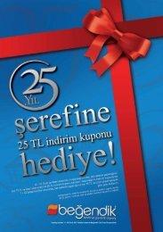 Katalog fiyatları 14 - 30 Ocak 2011 tarihleri arasında Beğendik Club ...