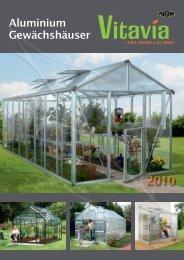 Aluminium Gewächshäuser - Holz- und Gartenwelt