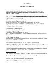 PAINTBALL SAFETY RULES