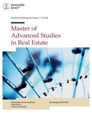 Master of Advanced Studies in Real Estate - vlp-aspan