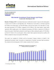 Microsoft Word - International Statistical Release 2012 Q3 - Efama