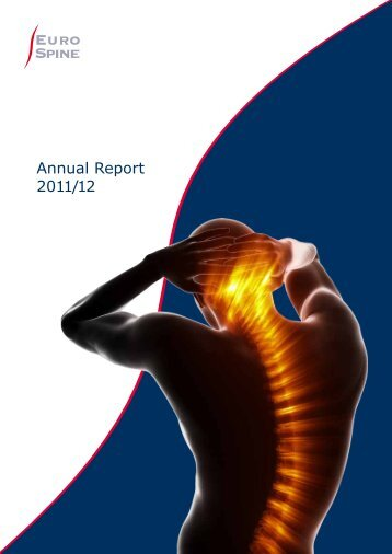 EuroSpine Annual Report 2011/2012 - The Spine Society of Europe
