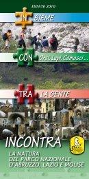 Calendario Estate - Parco Nazionale d'Abruzzo Lazio e Molise