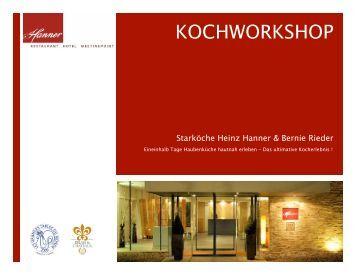 Kochworkshop HH&BR - Hanner
