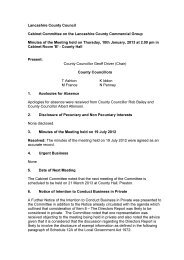 Minutes of the Meeting held on 10 January 2013 PDF 27 KB