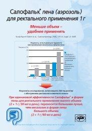 Эффективность и переносимость Пены Салофалька® у ...