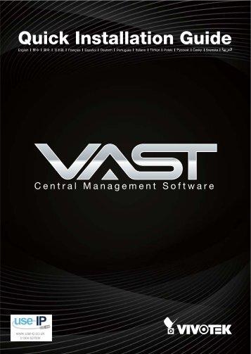 Vivotek VAST Quick Installation Guide - Use-IP